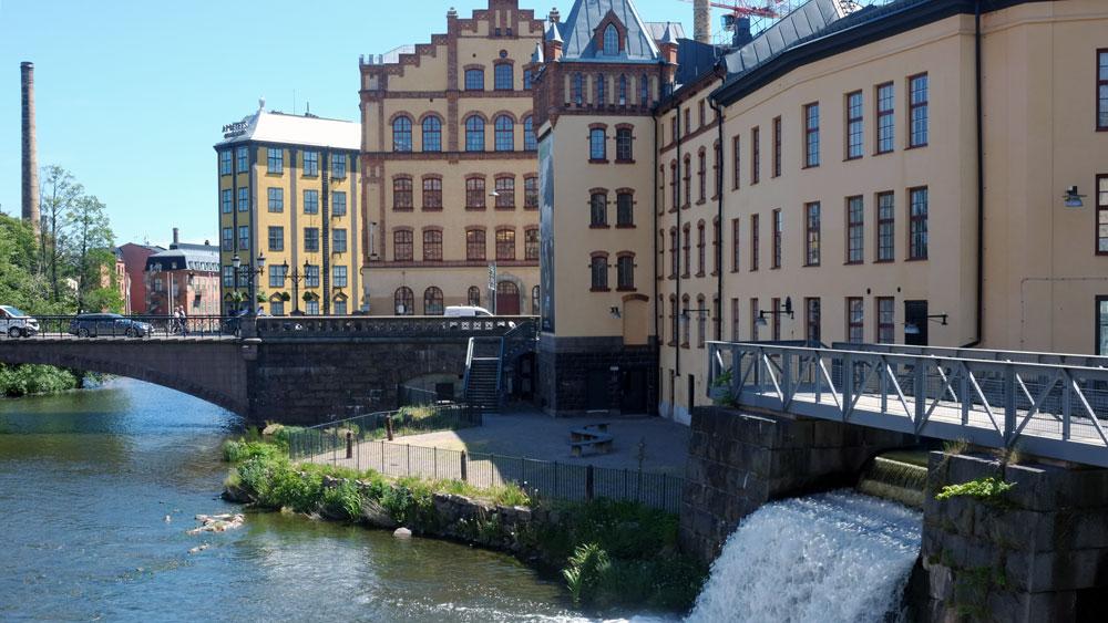 Stadsvandring i Norrköpings industrilandskap