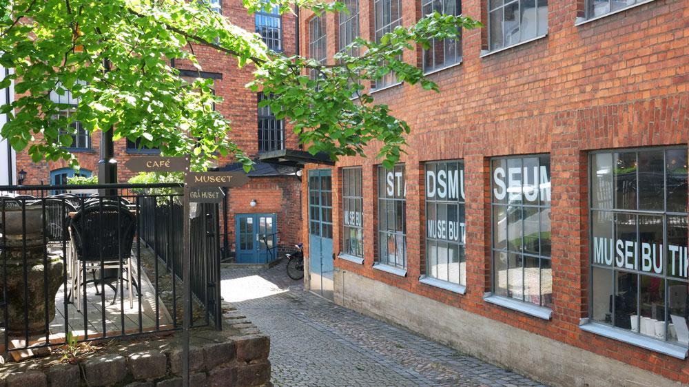 Norrköpings stadsmuseum – innergård